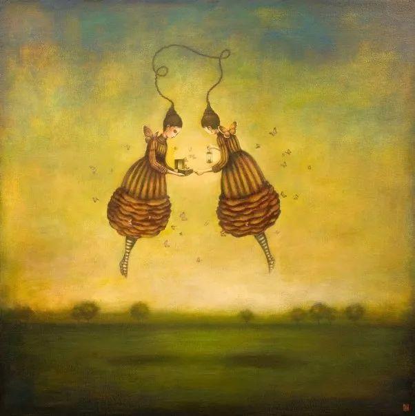 越南画家杜伊·怀恩的空灵绘画插图107