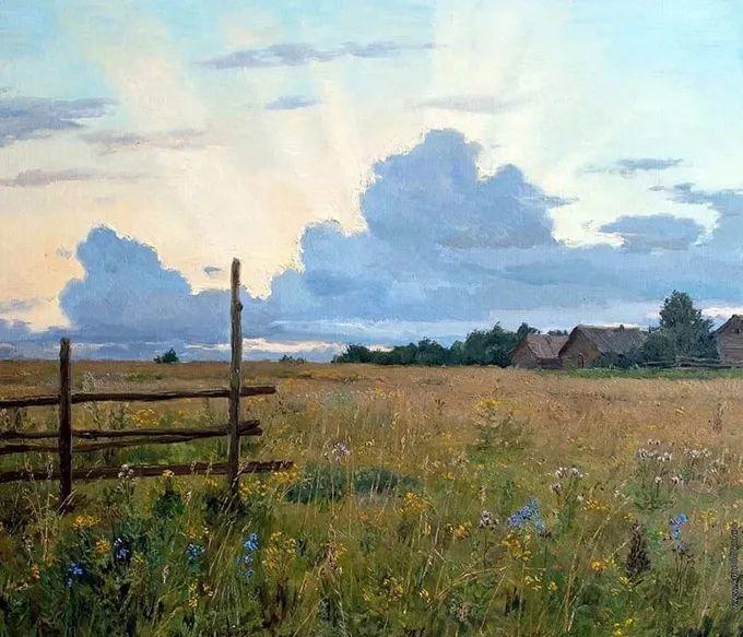 """岁月静好,俄罗斯"""" 小希施金 """" 的自然风景油画,美极了!插图35"""