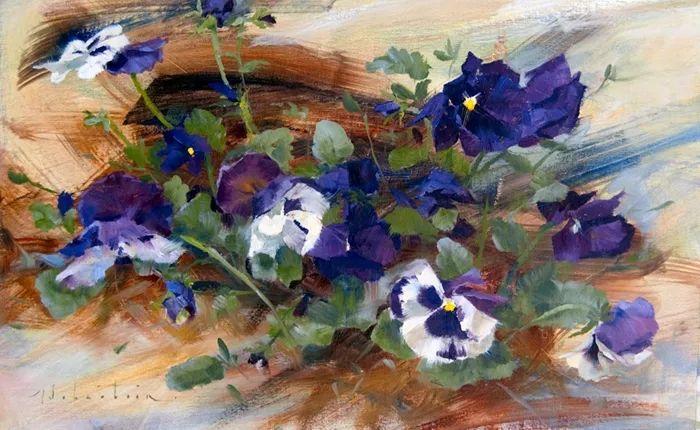 自学油画,她用真情描绘着周围的世界之美插图7