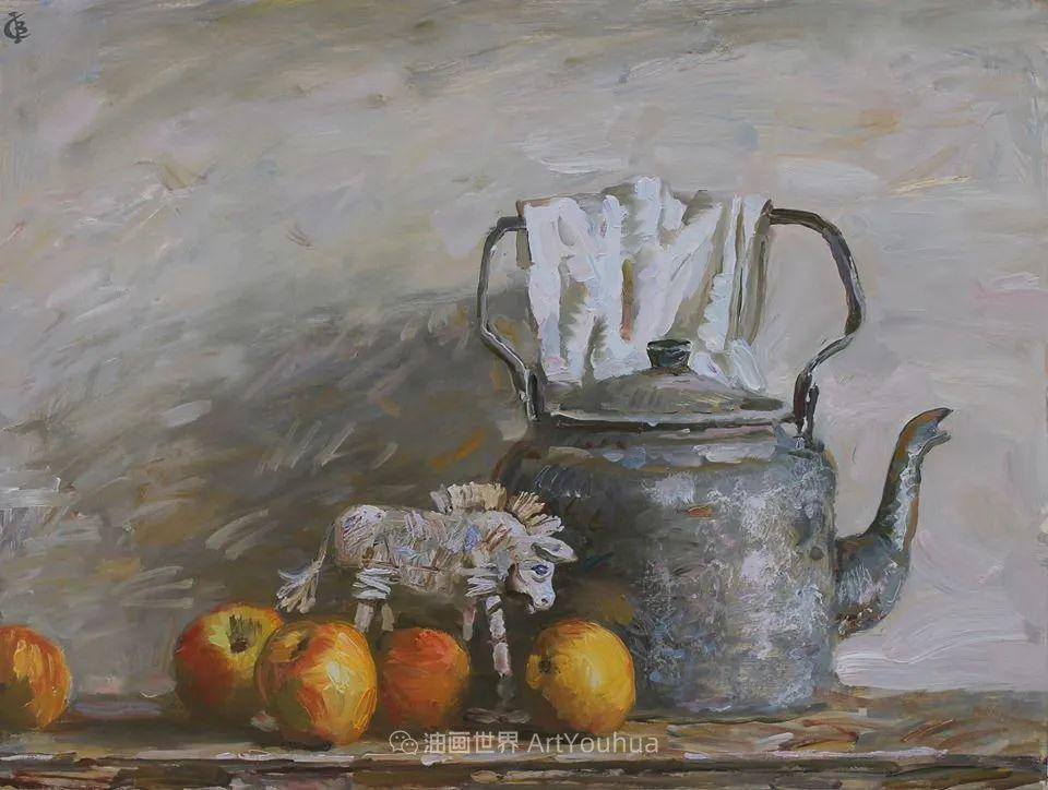 古典风格蛋彩画,俄罗斯画家弗拉基米尔·亚历山德罗维奇插图59