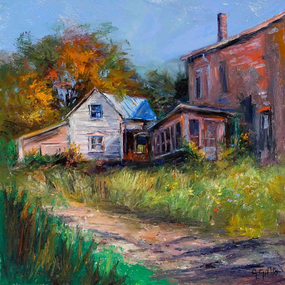 风景油画丨美国艺术家乔治·加洛的风景油画作品插图9