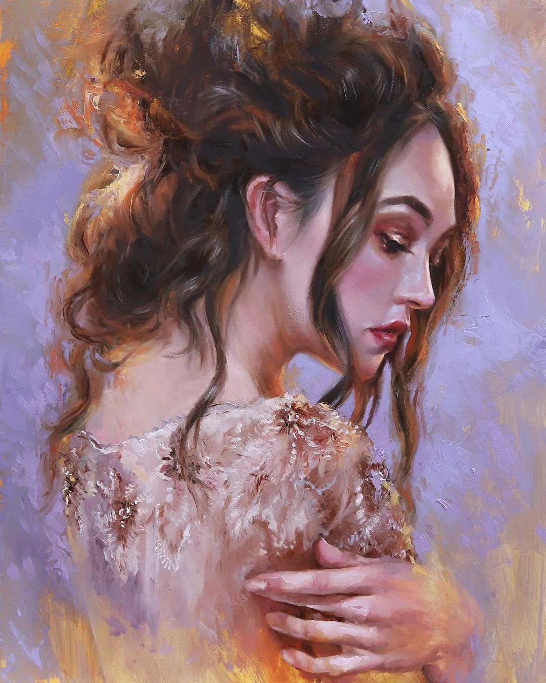 艺术家安娜的精美油画艺术作品欣赏插图1