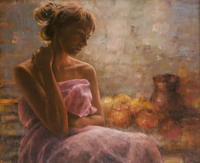 具象现实主义,波兰女画家阿丽娜·西贝拉插图21