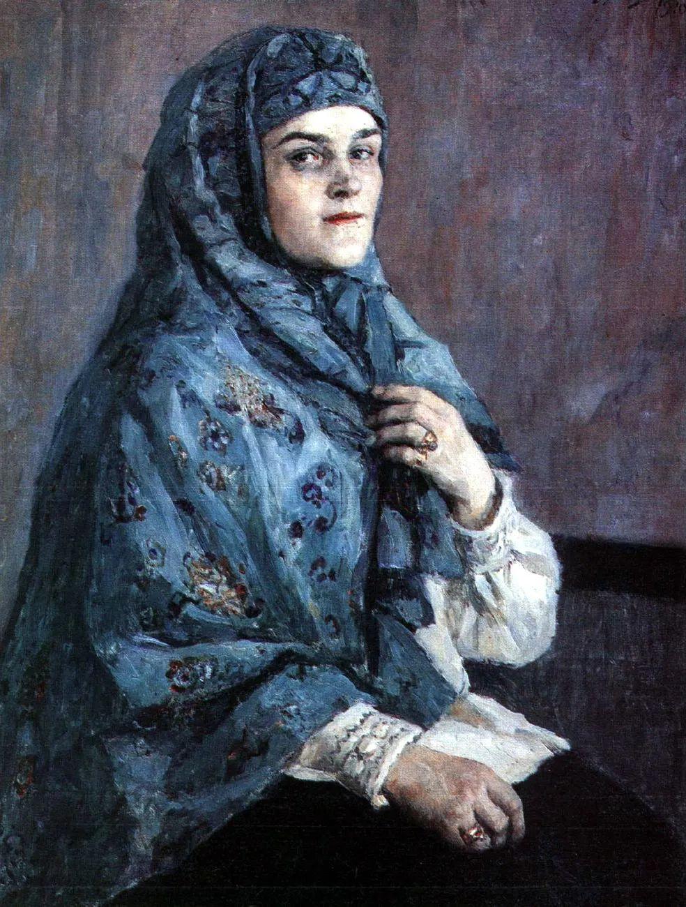 俄罗斯画坛先驱人物,瓦西里·苏里科夫人物作品选粹插图2