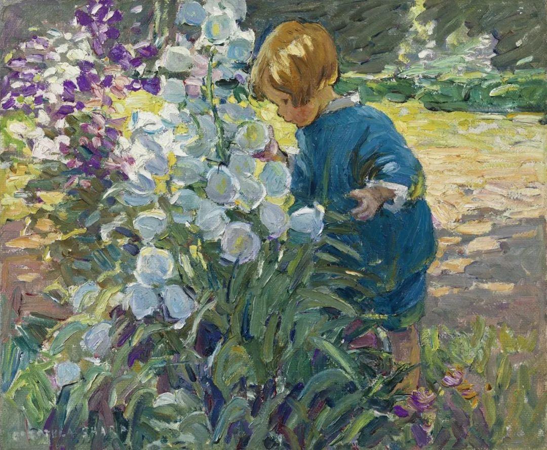 充满着写意风格的绘画,20世纪英国最伟大的女画家之一夏普插图9