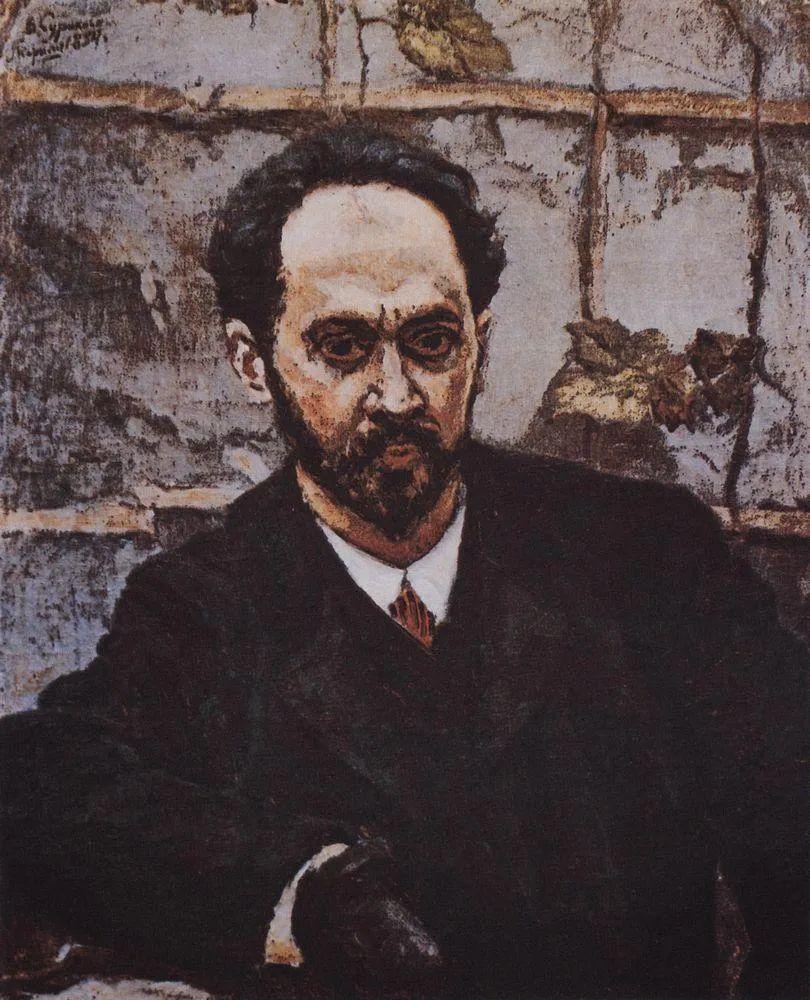 俄罗斯画坛先驱人物,瓦西里·苏里科夫人物作品选粹插图29