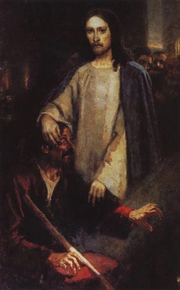 俄罗斯画坛先驱人物,瓦西里·苏里科夫人物作品选粹插图35