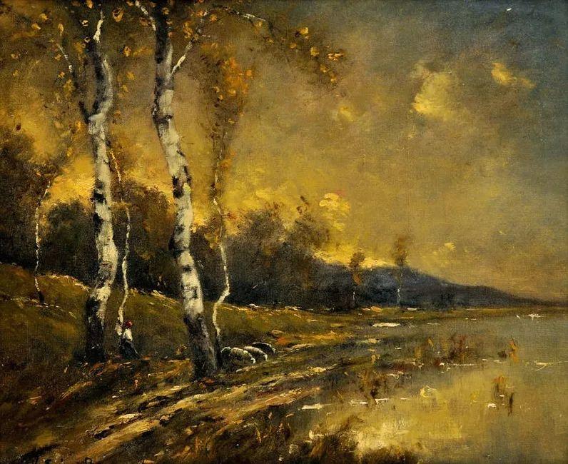 匈牙利杰出的自然风景画家——贝拉·斯潘依插图17