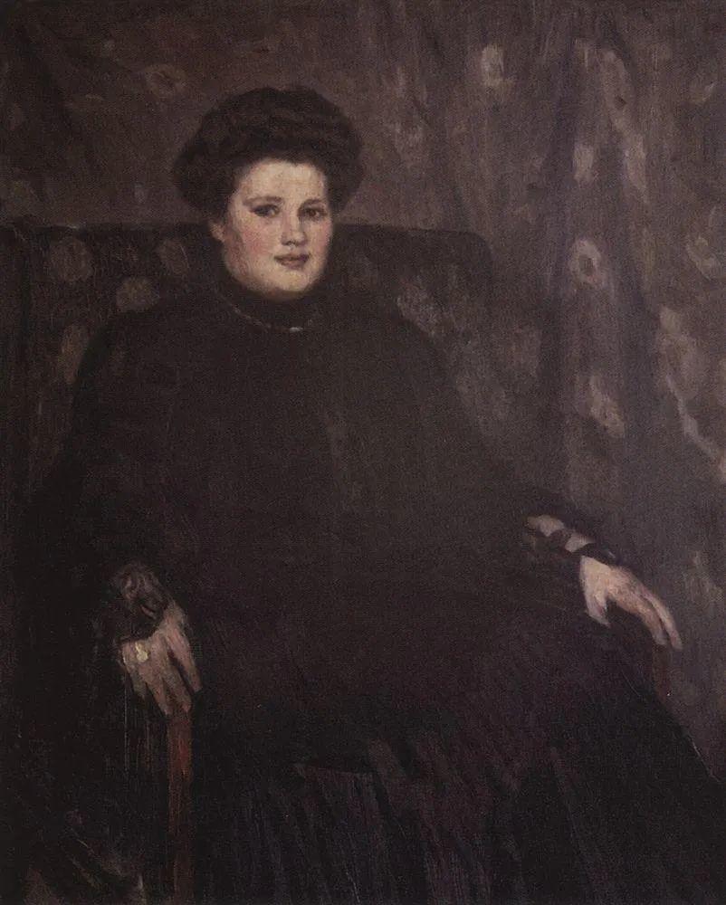 俄罗斯画坛先驱人物,瓦西里·苏里科夫人物作品选粹插图33