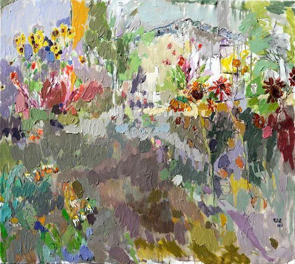 她的油画作品色彩丰富,充满爱意插图49