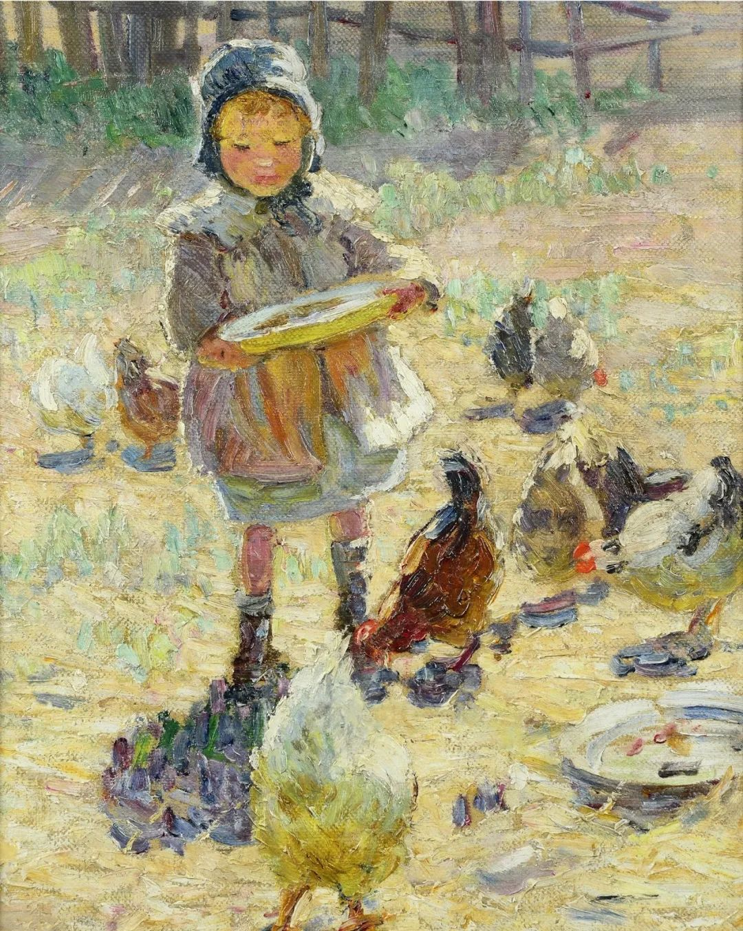 充满着写意风格的绘画,20世纪英国最伟大的女画家之一夏普插图41