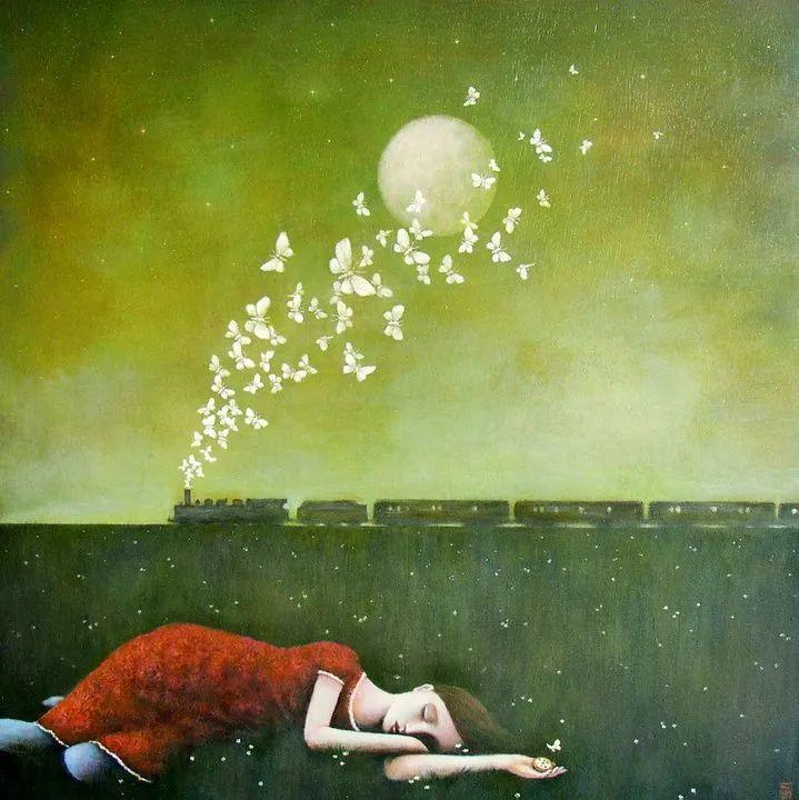 越南画家杜伊·怀恩的空灵绘画插图3