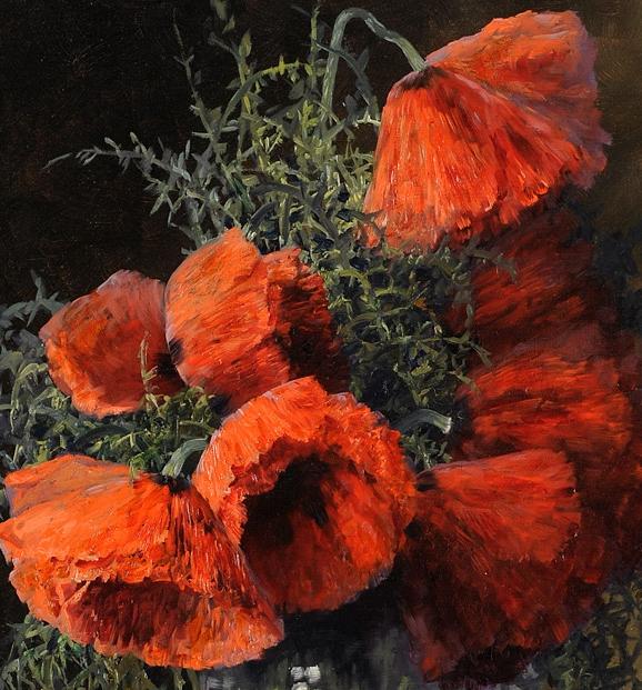 学医的他,37岁才开始自学绘画,笔下五颜六色的花束,太美了!插图29