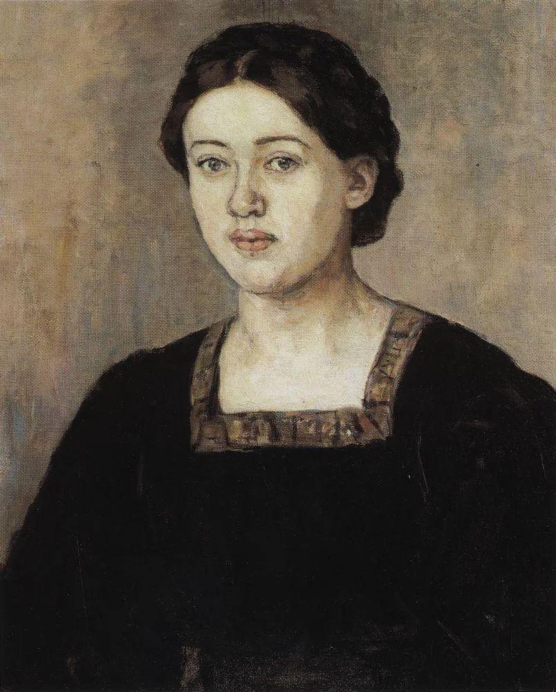 俄罗斯画坛先驱人物,瓦西里·苏里科夫人物作品选粹插图15
