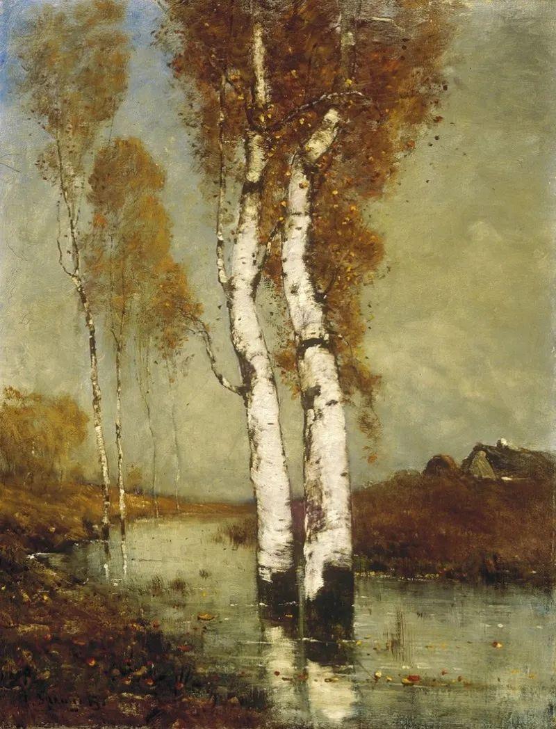 匈牙利杰出的自然风景画家——贝拉·斯潘依插图33