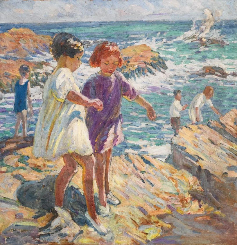 充满着写意风格的绘画,20世纪英国最伟大的女画家之一夏普插图37
