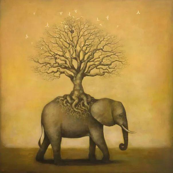 越南画家杜伊·怀恩的空灵绘画插图87