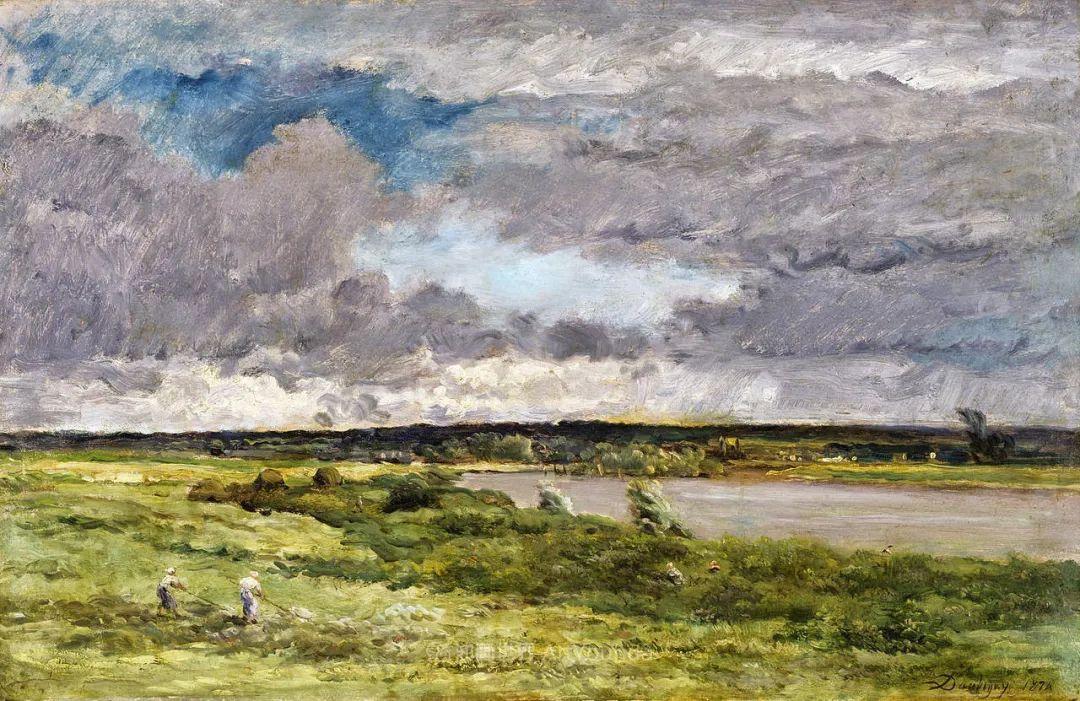 法国著名巴比松派风景画家——杜比尼插图47