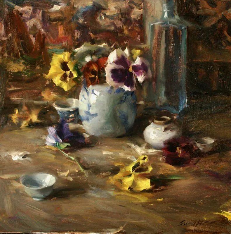 一个来自东方的画家,把印象派绘画掌握和提高到,如此至善至美的境界!插图25