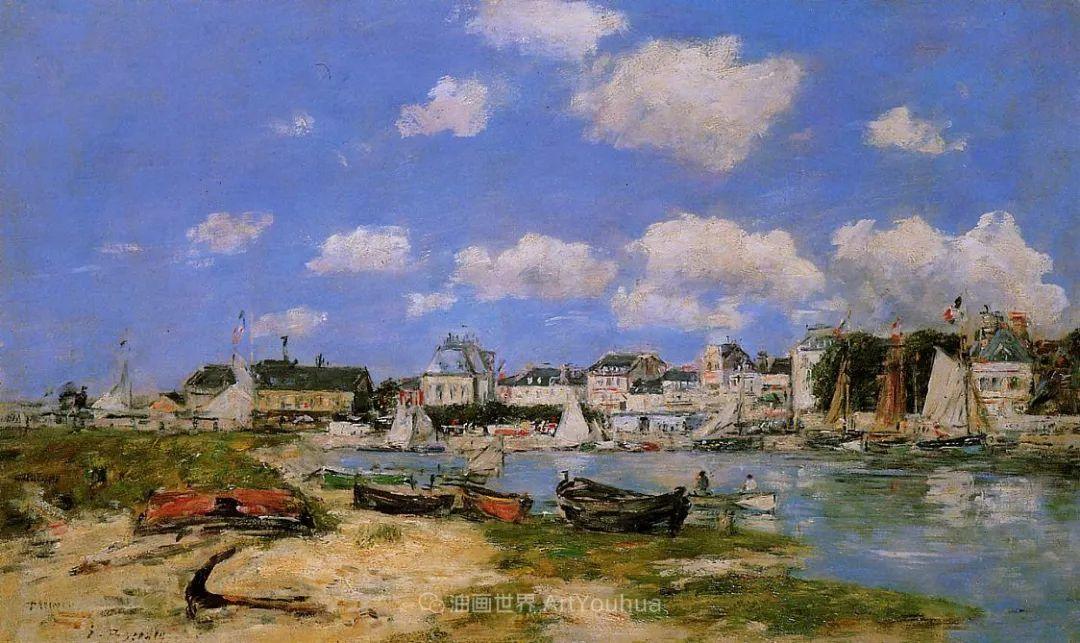 法国最早印象派画家欧仁·布丹,曾教莫奈写生!插图137