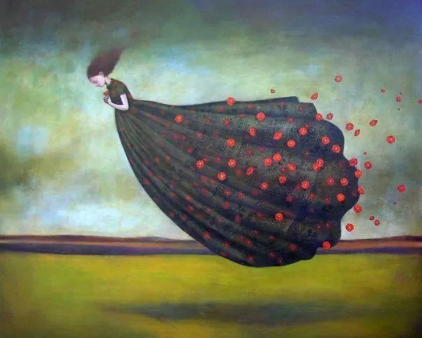 越南画家杜伊·怀恩的空灵绘画插图15