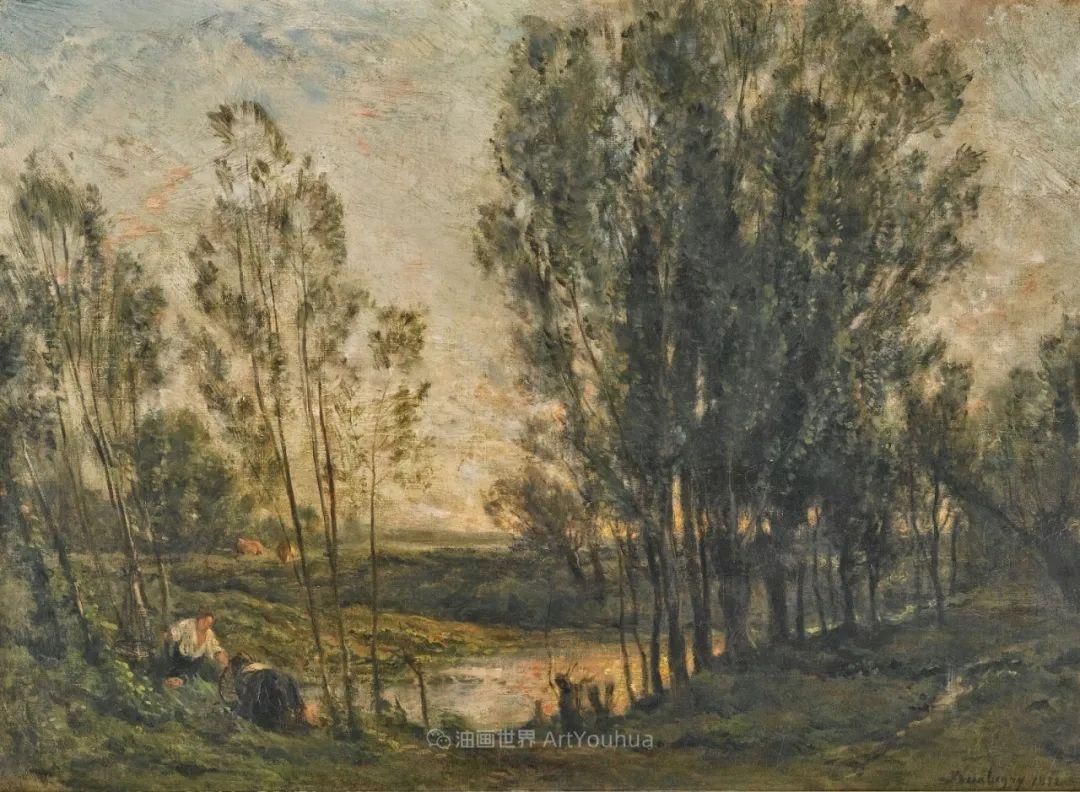 法国著名巴比松派风景画家——杜比尼插图133