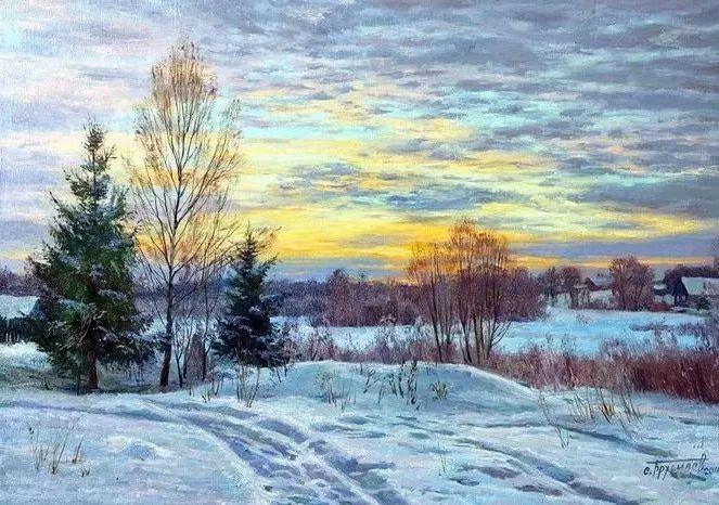 """岁月静好,俄罗斯"""" 小希施金 """" 的自然风景油画,美极了!插图15"""