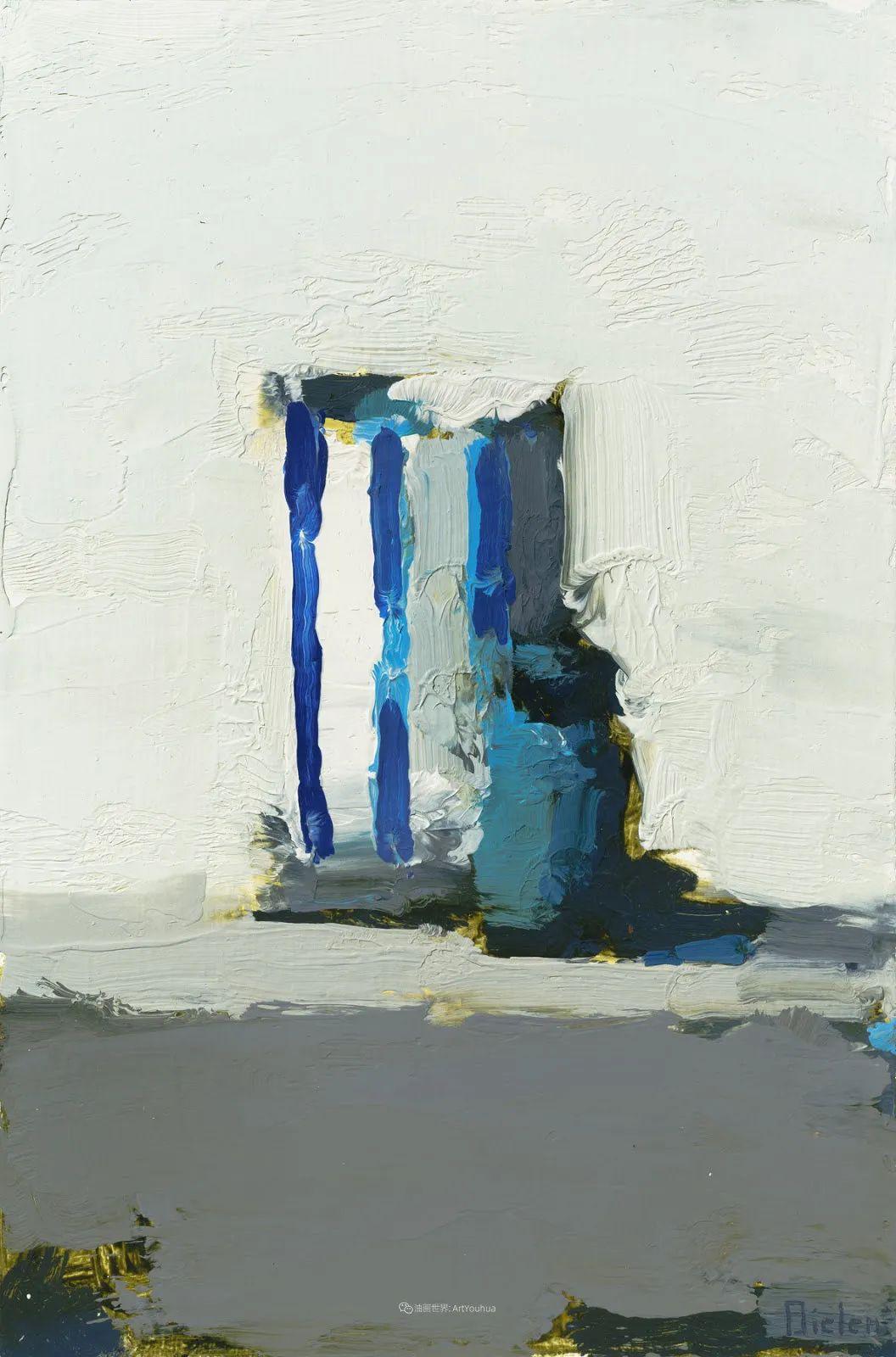 简约宁静 | 波兰画家斯坦利·比伦作品欣赏插图37