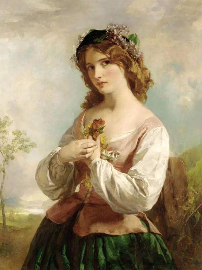 德国画家康拉德油画里的优雅女子,美!插图47