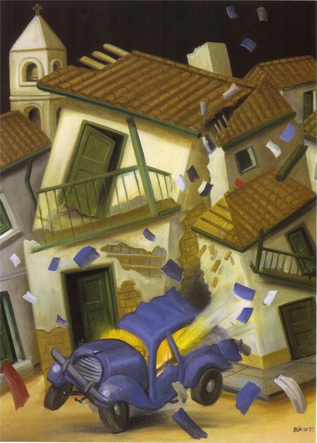 诙谐幽默的圆润形态 | 费尔南多·波特罗插图14