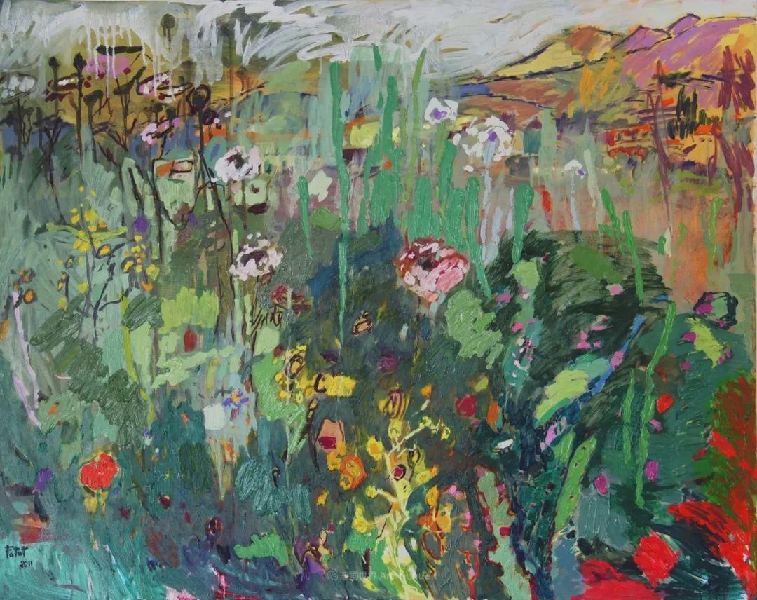 她的油画作品色彩丰富,充满爱意插图101
