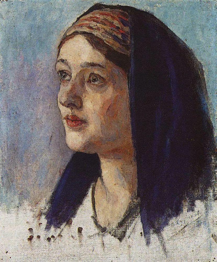 俄罗斯画坛先驱人物,瓦西里·苏里科夫人物作品选粹插图19
