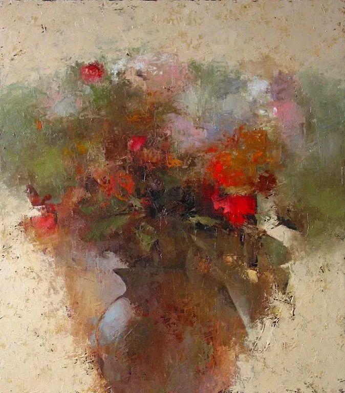 笔触率性,优雅朦胧的风景油画,迷人!插图123