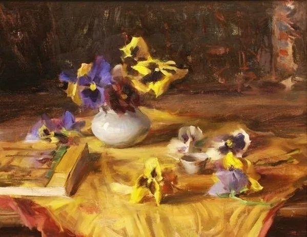 一个来自东方的画家,把印象派绘画掌握和提高到,如此至善至美的境界!插图23