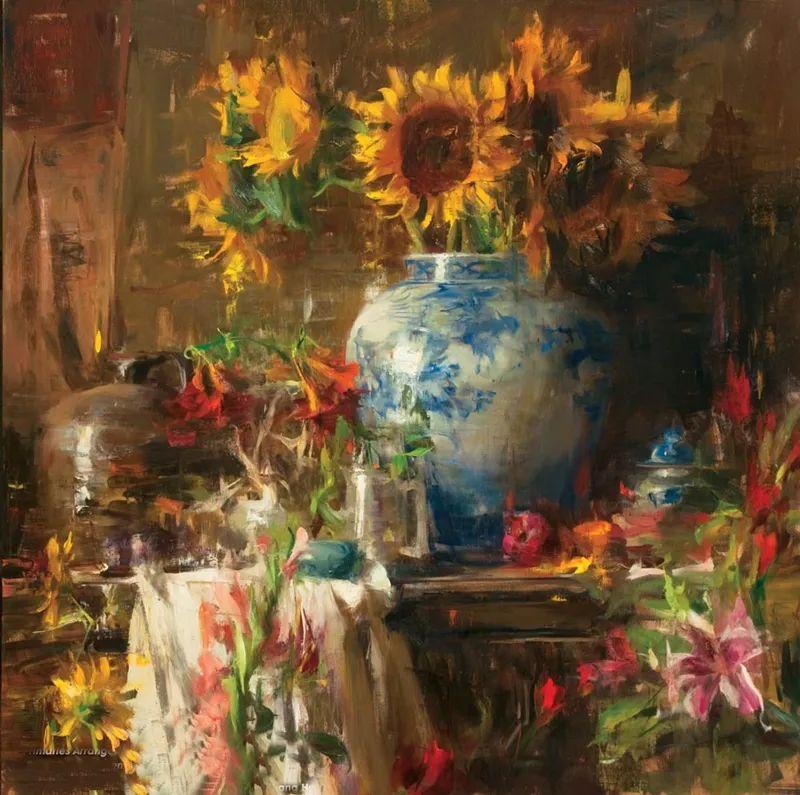 一个来自东方的画家,把印象派绘画掌握和提高到,如此至善至美的境界!插图11