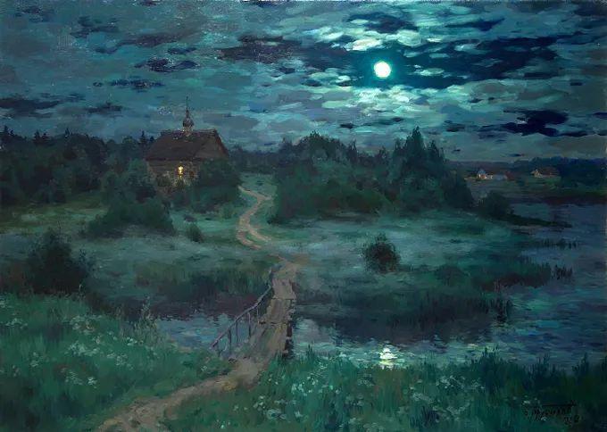 """岁月静好,俄罗斯"""" 小希施金 """" 的自然风景油画,美极了!插图121"""