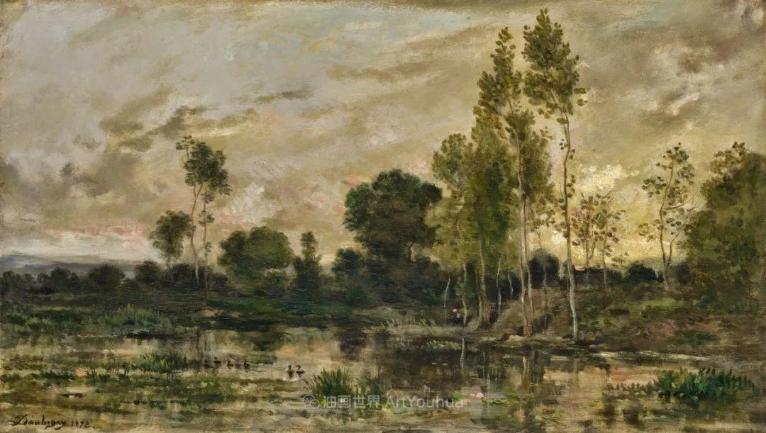 法国著名巴比松派风景画家——杜比尼插图155