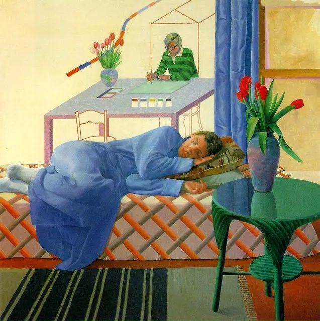 最著名的英国在世画家——大卫·霍克尼插图13