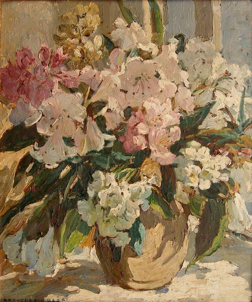 充满着写意风格的绘画,20世纪英国最伟大的女画家之一夏普插图13