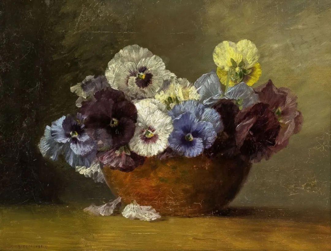 学医的他,37岁才开始自学绘画,笔下五颜六色的花束,太美了!插图31