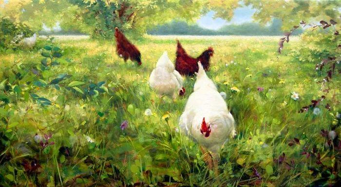 自学油画,她用真情描绘着周围的世界之美插图14
