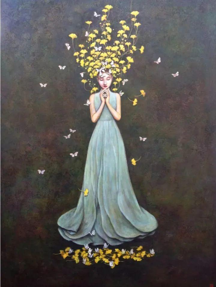 越南画家杜伊·怀恩的空灵绘画插图5