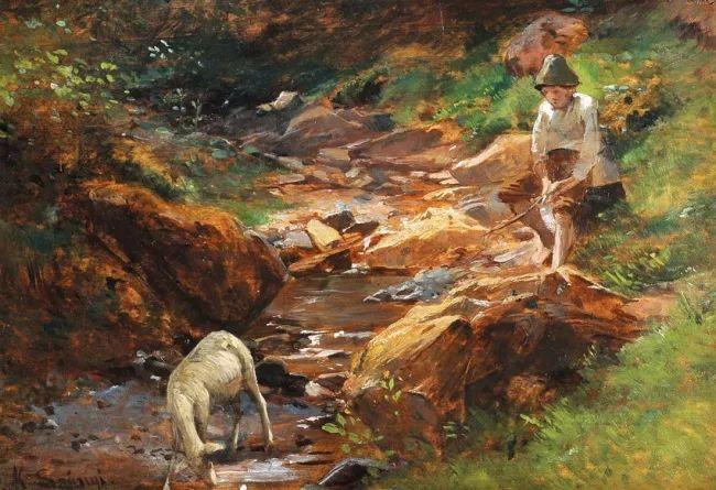 匈牙利杰出的自然风景画家——贝拉·斯潘依插图39