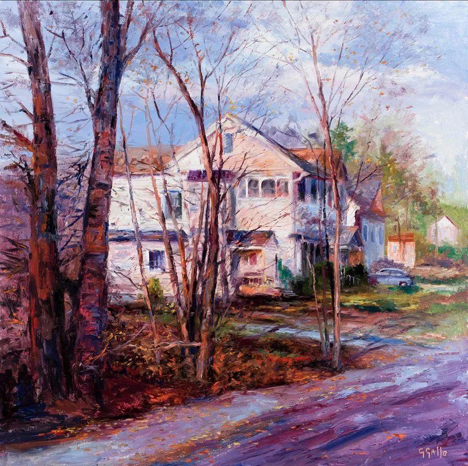 风景油画丨美国艺术家乔治·加洛的风景油画作品插图11
