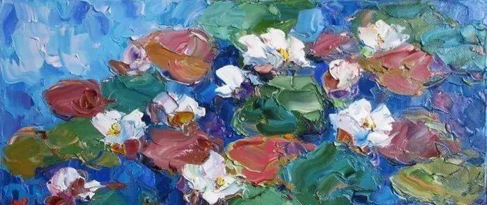 俄罗斯画家 弗拉基米尔·苏科瓦蒂 刮刀油画作品欣赏插图73