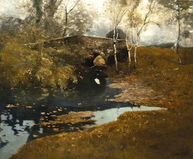 匈牙利杰出的自然风景画家——贝拉·斯潘依插图95
