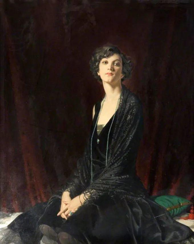 德国画家康拉德油画里的优雅女子,美!插图33