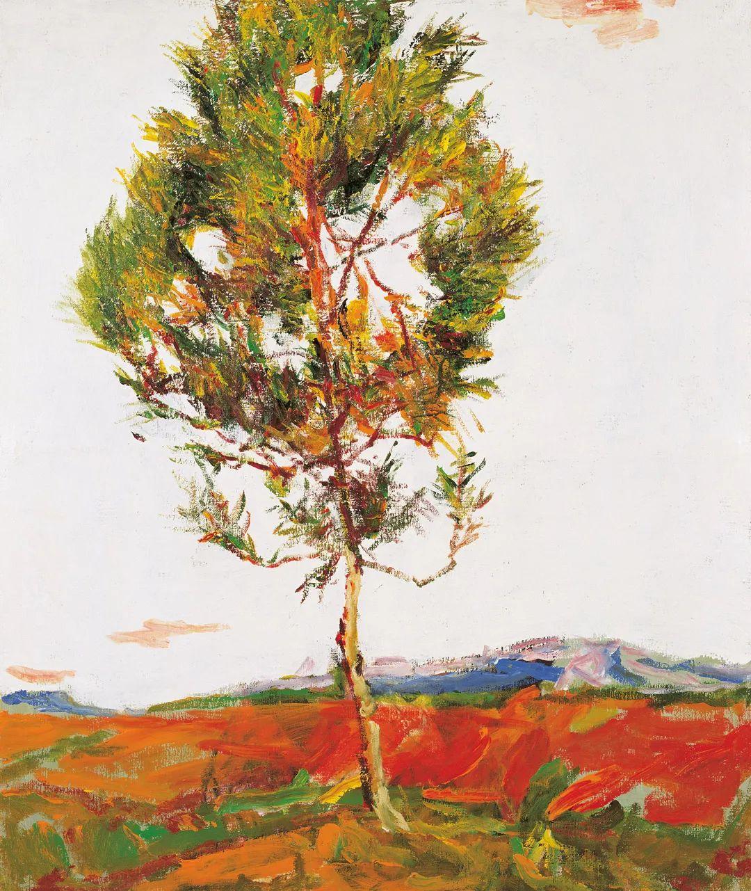 浓烈、明亮、斑斓、恣肆的色彩,这油画美极了插图33