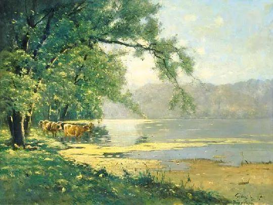 匈牙利杰出的自然风景画家——贝拉·斯潘依插图71