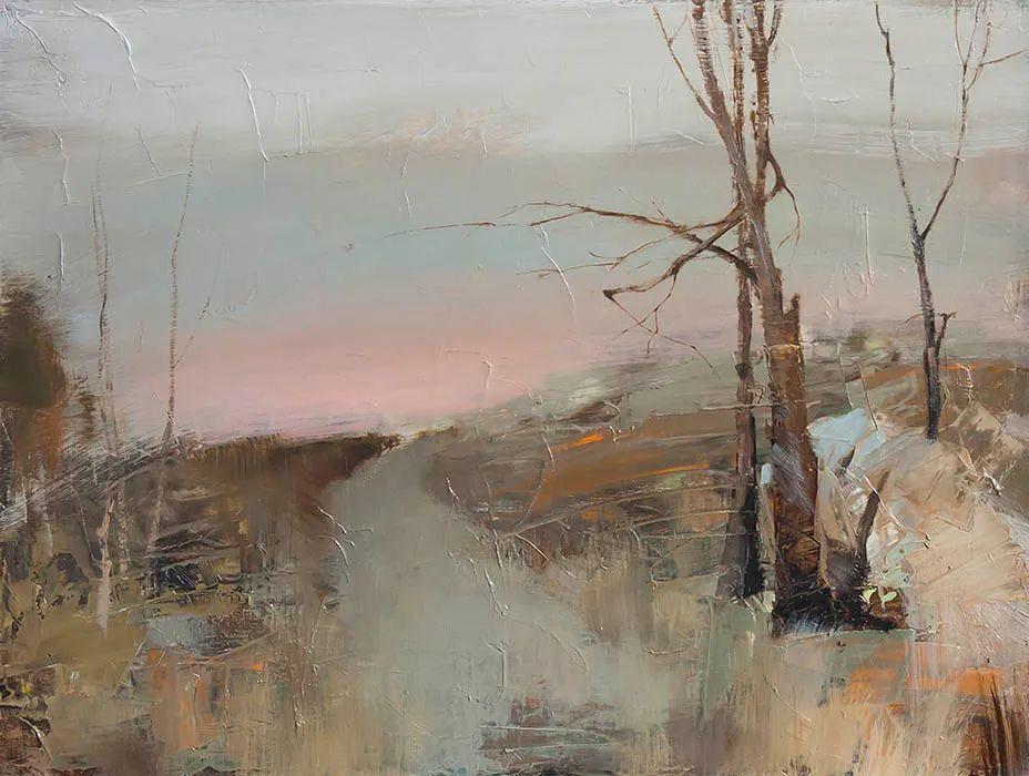 笔触率性,优雅朦胧的风景油画,迷人!插图49